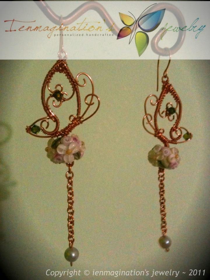 Wire Jewelry Idea: Wire Butterfly Earrings or Pendant | Jewelry ...