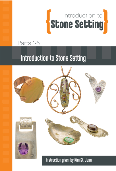 Introduction to Stone Setting with Kim St. Jean - 5 DVD Set