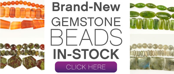 Click to shop new Gemstone Beads