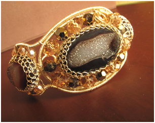 Fabulous Druzy Bangle