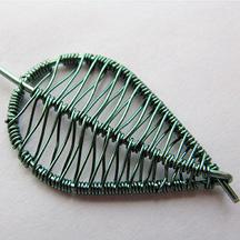 Birch Leaf Earrings