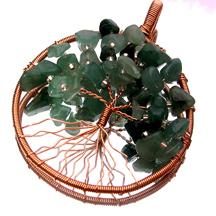 Tree of life wire jewelry wire wrap tutorials jewelry for How to make a wire tree of life sculpture