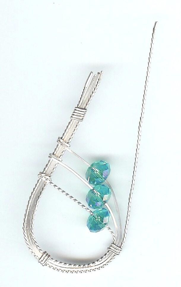 Wire Spiral Earringst