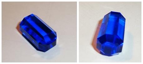 Blue Quartz Crystal