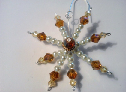 Beautiful Snowflake Ornament