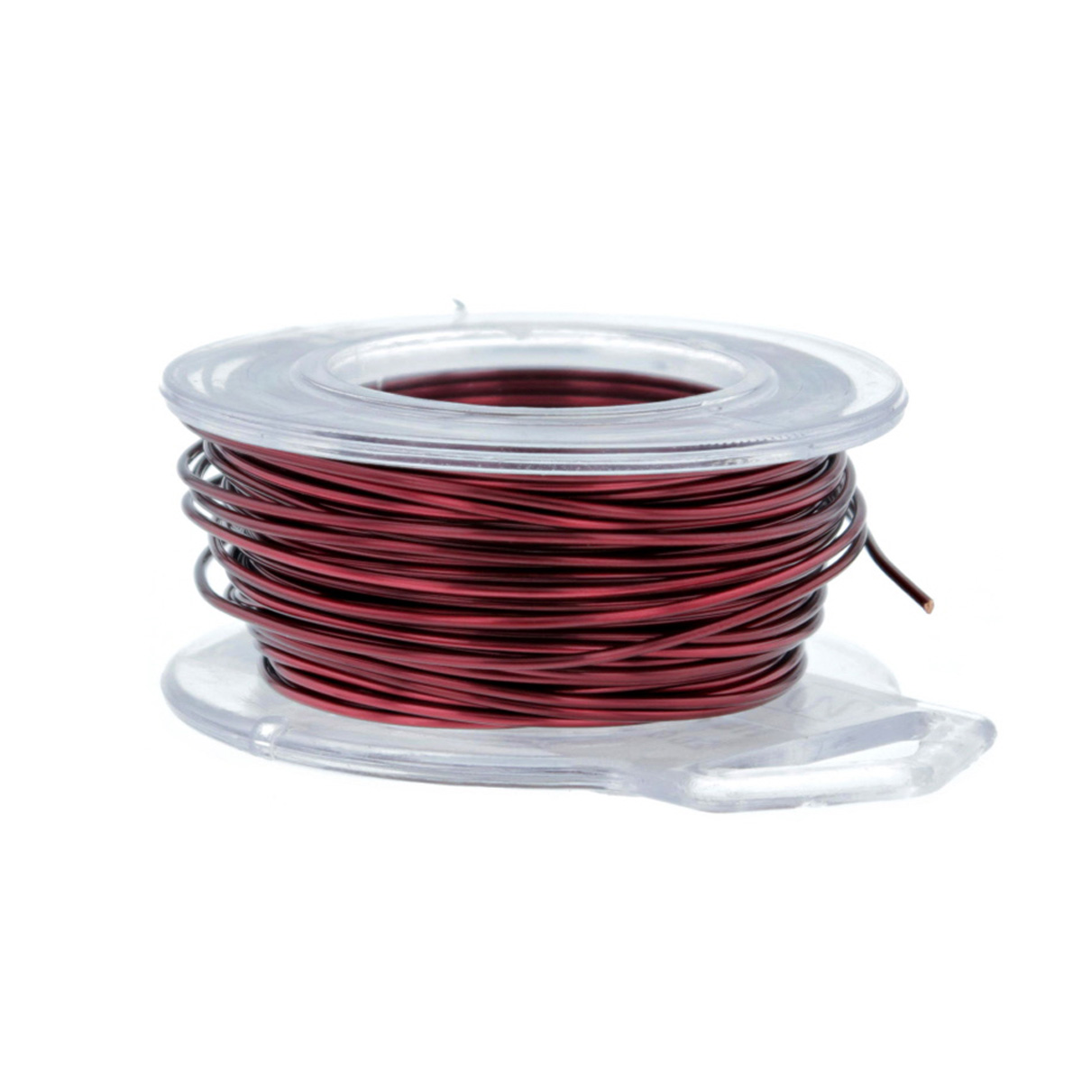 Burgundy Enameled Craft Wire