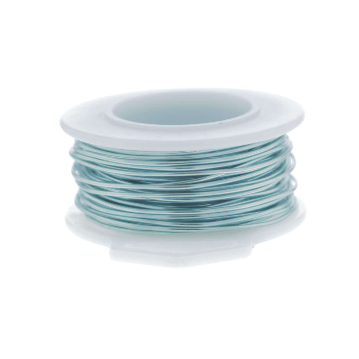 Baby Blue Silver Plated Copper Craft Wire