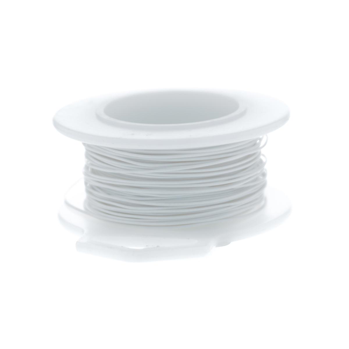 Ultra White Silver Plated Copper Craft Wire