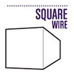 Shop Square Silver Plated Craft Wire
