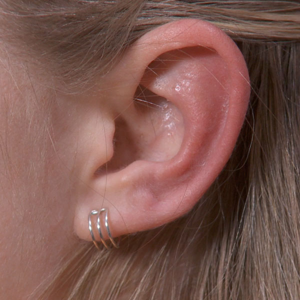 Trple Band Ear Cuff