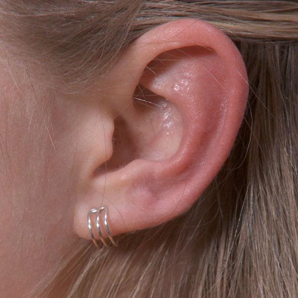 Trple Band Ear Cuff