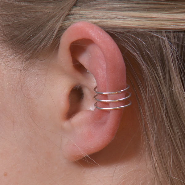 Middle Ear Triple Band Cuffs