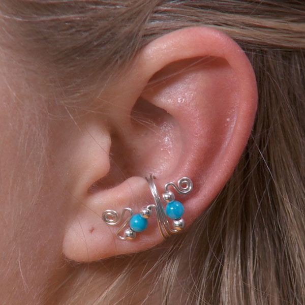 Double Sided Ear Cuff