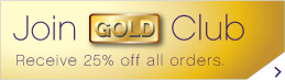 Join Gold Club and receive 25% off all orders.