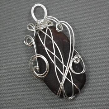 Super Wrap A Stone With A 4 Strand Braid Wire Jewelry Wire Wrap Wiring Database Xlexigelartorg