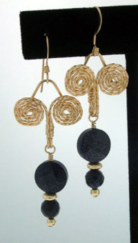 Egyptian Coil Earrings Wire Jewelry Wire Wrap Tutorials