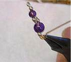 Wire Sculpted Climbing Earrings