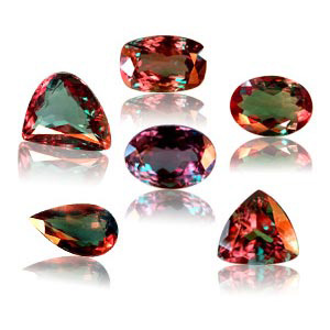 June Birthstones - Alexandrite, Pearl and Moonstone