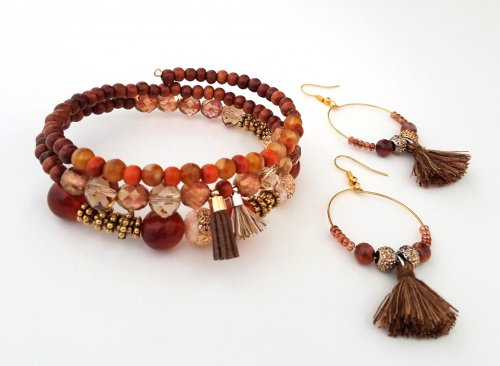 Color Inspiration - Boho Tassel