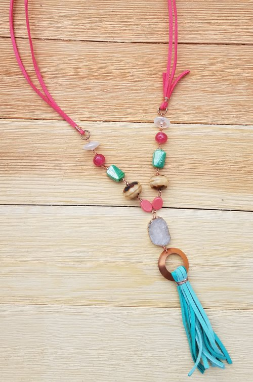 Color Inspiration - Adobe Sun Necklace