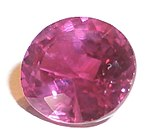 Judy Ellis's July Birthstone - The Ruby - , General Education, Design, , A cut Ruby