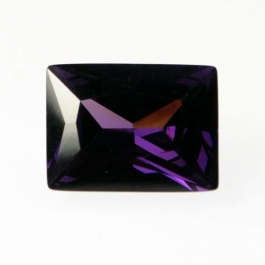 Judy Ellis's February Birthstone- Amethyst - , General Education, Design, , Rectangle Amethyst CZ