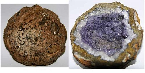 Judy Ellis's February Birthstone- Amethyst - , General Education, Design, , Amethyst Geode