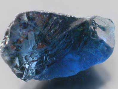 Judy Ellis's September Birthstone - Sapphire - , General Education, Design, , Uncut Blue Sapphire