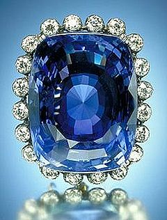 Judy Ellis's September Birthstone - Sapphire - , General Education, Design, , The 423-carat (85 g) blue Logan Sapphire