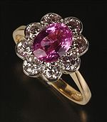 Judy Ellis's September Birthstone - Sapphire - , General Education, Design, , Pink Sapphire