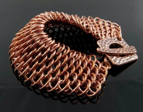 Judy Ellis's The Art of Creating Chainmail - , Chain Maille Jewelry, Making Chain, Chain Making , Design, , Dragonscale chainmail