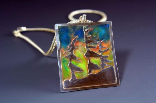 Jeannette Froese LeBlanc's With These Hands - , , , , enamel