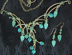Judy Ellis's Gem Profile- Turquoise - , General Education, , Turquoise bead necklace