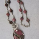 Judy Ellis's Gem Profile- Rhodonite - , General Education, , Rhodonite Necklace