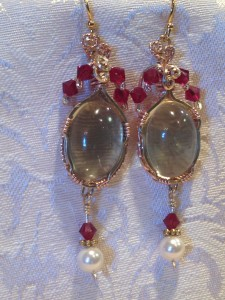 Judy Ellis's Gem Profile- Rutilated Quartz - , General Education, , Lemon Quartz earrings