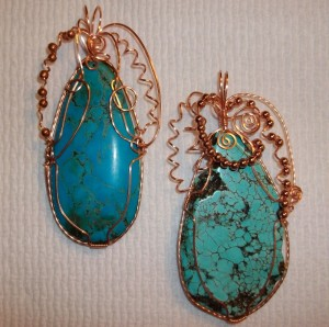 Judy Ellis's Gem Profile- Magnesite - , General Education, , Magnesite cabs