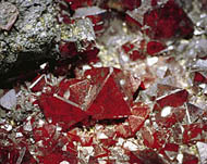 Judy Ellis's Gem Profile- Cuprite - , General Education, , Cuprite Crystals