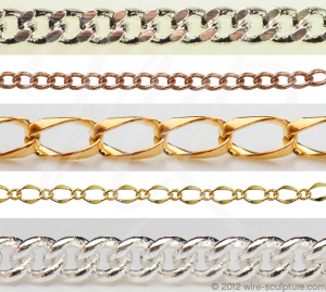Judy Ellis's About Jewelry Chain- Curb Chain and Gourmette Chain - , General Education, Design, curb chain