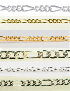 Judy Ellis's About Jewelry Chain- Figaro Chain - Pictures of Figaro Chain, General Education, Design, figaro chain