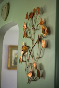 Judy Ellis's Copper Roses - , Inspiration, Design, Copper wall hanging