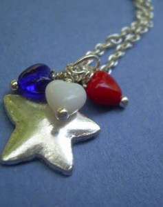Judy Ellis's Remembering the Fallen - , Inspiration, Beads, Star necklace