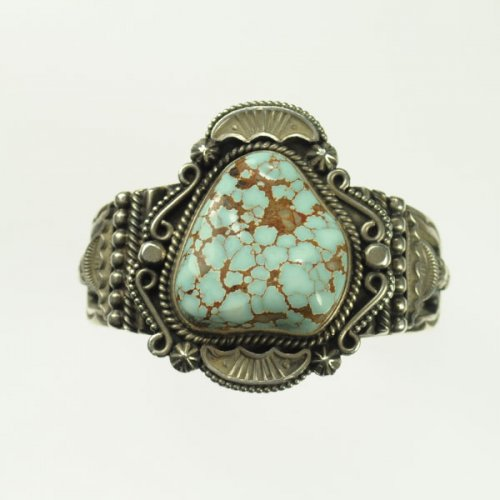 Judy Ellis's Tips for Tucson Shopping- Gem Show Secrets - <b>A Little Show and Tell for Inspiration</b>, General Education, , Dry Creek Turquoise set in Sterling Silver