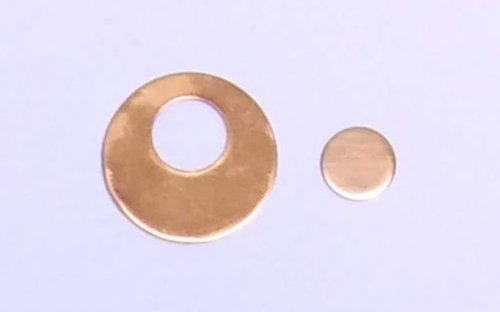 Judy Larson's Disc Cutter Basics and How to Make Metal Washers - For an Offset Hole, General Education, Tools, disc cutter