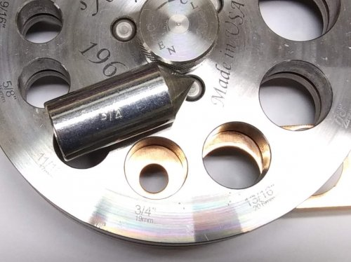 Judy Larson's Disc Cutter Basics and How to Make Metal Washers - For a Centered Hole, General Education, Tools, disc cutter