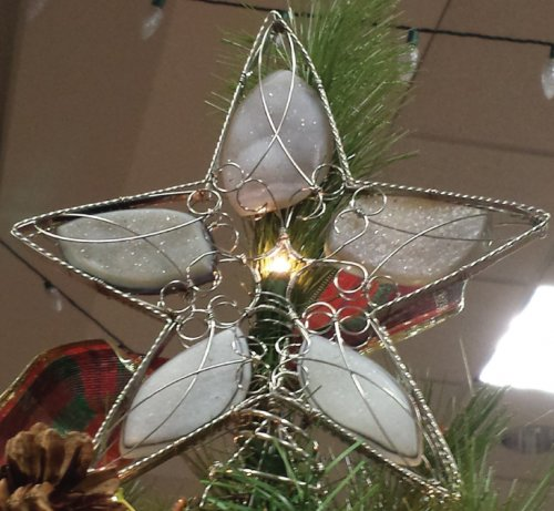 Judy Ellis's Wire Wrapped Christmas Tree - <b>Tree Topper</b>, Inspiration, Wire Wrapping, Wrapping, Wire Wrapping Jewelry, Design, Tree Topper Star