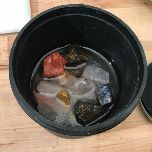 Judy Ellis's How To Polish Your Own Rocks using a Rotary Rock Tumbler - {Step 1 - Coarse} - Initial Grinding and Shaping, General Education, Tumbling, Tumble, Tumbling Jewelry, Step 1A