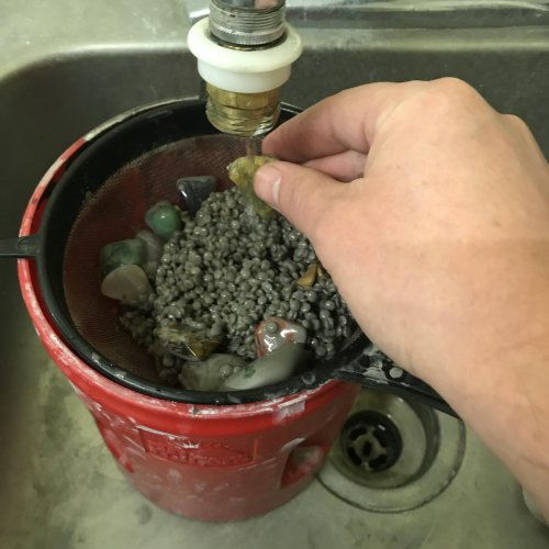 Judy Ellis's How To Polish Your Own Rocks using a Rotary Rock Tumbler - , General Education, Tumbling, Tumble, Tumbling Jewelry, Step 3B