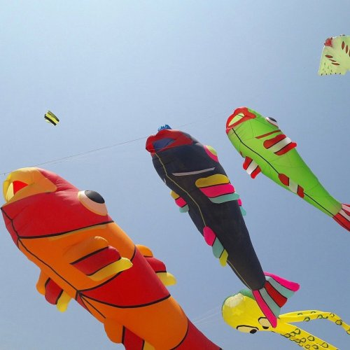 Debbie Blair's Color Inspiration - Kite Fest - , Wire Jewelry Design, Design, kites and color