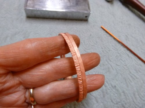 Judy Larson's Wire Bangles - , Contemporary Wire Jewelry, Butane Torch, Soldering, Solder, wire bangles