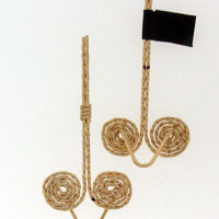 Dale Armstrong's Egyptian Coil Earrings - , Classic Wire Jewelry, Coiling, Coiling Wire, Wire Coiling, Jump Rings, Jump Ring, Making Jump Rings, Loops, Wire Loop, Wrapped Wire Loop, Spirals, Wire Spiral, Spiral Wire Wrap, Wire Wrapping, Wrapping, Wire Wrapping Jewelry,